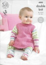 c). King Cole Baby Double Knit Patterns & Baby Knitting Books